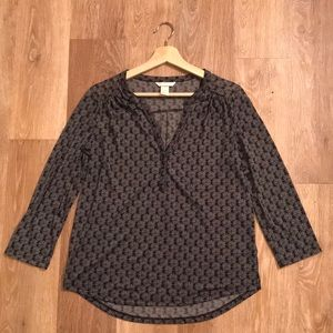 (Like new) patterned tunic